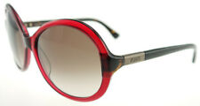 TODS 30 69F Shiny Bordeaux / Brown Gradient Sunglasses TO 0030 5969F