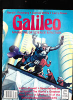 Galileo Magazine #15 Larry Niven Gerald Feinberg Connie Willis  November 1979