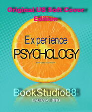 NEW Experience Psychology 2E + Psychological Disorders DSM-5 Update King 2nd US