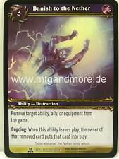 WOW - 3x banish to the sobborghi-Archives-FOIL