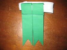 Kelly green Highland Dress Sock Flashes Flash