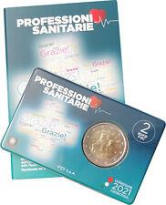 2 Euro Italien 2021 St Coincard Berufe im Gesundheitswesen Grazie Sanitarie