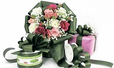50m Polyband 31mm Aspidistra Blatt Geschenkband Floristenband Dekoband Aspid 3cm