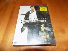 CONSTANTINE 2-Disc Deluxe Edition Rare OOP Keanu Reeves Rare DVD SET SEALED NEW