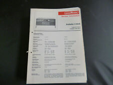 Original Service Manual Nordmende  Arabella 1.143A
