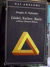 Hofstadter GODEL ESCHER BACH eterna ghirlanda brillante ed. Adelphi 2005