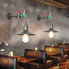 Retro Industrial Style Chandelier Water Pipe Wall Light Steampunk Decor Lamp