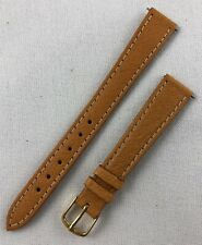 Kreisler Genuine Pigskin 13mm Light Brown Tan Ladies Leather Watch Band W102