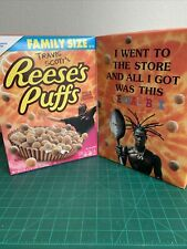 Limited Travis Scott x Reese's Puffs Cereal Regular Sized Rare Free Shipping