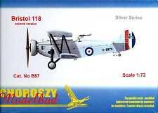 Choroszy Models 1/72 BRISTOL 118 Second Prototype