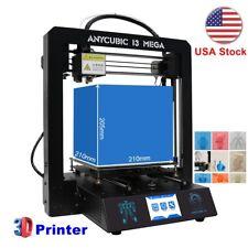 Anycubic Upgrade I3 MEGA 3D Printer Ultrabase Large Size Metal Frame V5 TFT US