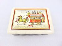1950s 60s Guinness Wade Trinket Box - cigarette box - jewellery - keep sakes etc