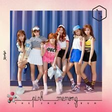 APINK [PINK MEMORY] 2nd Album RED Ver CD+Photo Book+Photo Card K-POP SEALED