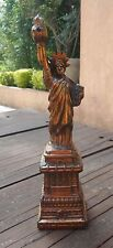 VINTAGE STATUE OF LIBERTY CAST METAL SOUVENIR NEW YORK CITY