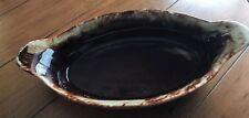 York USA Gourmet Ware Brown Drip Au Gratin Baking Dish #30 OvenProof