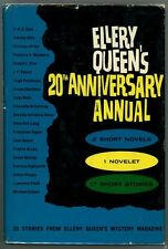 Ellery Queen's 20th Anniversary Annual by Ellery Queen (ed.) 1st- High Grade