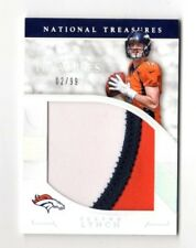 PAXTON LYNCH NFL 2016 NATIONAL TREASURES TREMENDOUS TREASURES MATERIAL (BRONCOS)