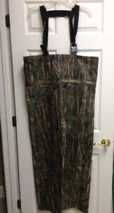 Gander Mountain Men's Camouflage Wading Pants Only Size Large Regular