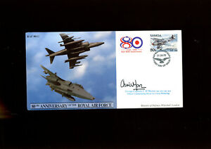 1998 RAF cover signed by Group Captain C H Moran OBE MVO BSc RAF