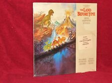 OST LP THE LAND BEFORE TIME JAMES HORNER DIANA ROSS 1988 MCA SEALED HYPE STICKER