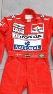 Ayrton senn 1991 Printed suit F1 Go Kart/karting Race/ Racing Suit