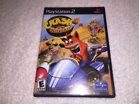 Crash Nitro Kart (Sony PlayStation 2, 2003) PS2 Black Label Complete Excellent!