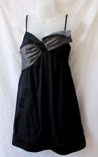 Ladakh Size 8 Dress NEW+TAG Black Mini Cocktail Party Evening Club  FREE POSTAGE