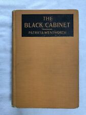 The Black Cabinet by Patricia Wentworth. HC 1926. 2nd Printing. Maud Silver