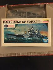 Lindberg Hms Duke of York British Battleship 1/1000 Scale Model Kit #842