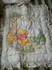 Vintage Classic Pooh Nursery Bedding Crib set,6 pieces plus bonus curtains