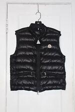 Moncler Men's Gui Black Puffer Vest Size 2 Medium