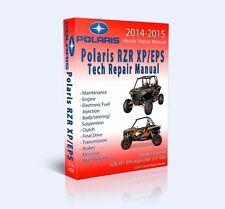 BEST - Polaris RZR 1000 EPS XP 2 4 Full Service Repair Shop Manual CD 2014 2015
