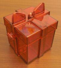 Tupperware Geschenk rot Dekoration Baumschmuck Geschenkdose Dose Box Neu OVP