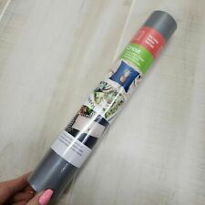 """Cricut Faux Leather Pebbled Silver 12""""x24"""" Sheet Roll"""