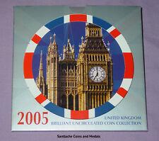 2005 ROYAL MINT BRILLIANT UNCIRCULATED SET COINS - Gunpowder Plot £2