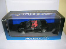 AUTOART Toyota mr2/Mr 2 Spyder 2000 Noir black, 1:18 Art. 78718 (RHD)