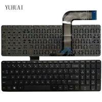 New US keyboard for HP 762529-001 765806-001 9Z.N9HSQ.701 V140646BS1 AEY14U00410