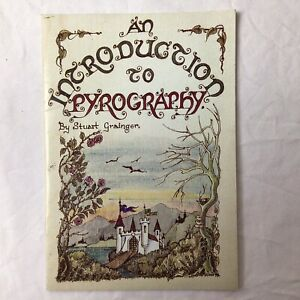 An Introduction to Pyrography Stuart Grainger Paperback Book 1995