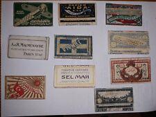 PAPIER CIGARETTE,ANCIEN,OTTOMAN,TURQUE,ROLLING CIGARETTE PAPER