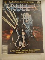 1983 Krull Marvel Super Special Vol. 1, No. 28 Official Adaptation Space Fantasy