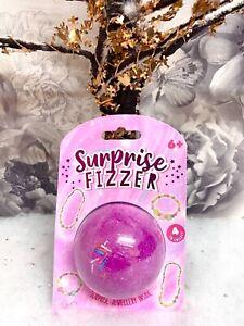 Bath Bomb GIRL Christmas surprise frizzer Jewellery Inside Xmas Stocking Filler