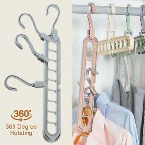 1pcs Clothes Pants Trouser Hanger,Multi Layer Storage Rack Closet Space Saver