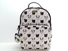 Betsey Johnson Luv Betsey Panda Backpack Handbag Blush Pink Black NEW! NWT