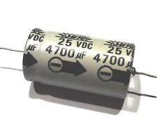 2 x Condensateur chimique axial 4700uF/25V                            CHA254700U