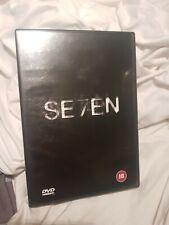 Se7en DVD 2 disc set - Brad Pitt, Morgan Freeman