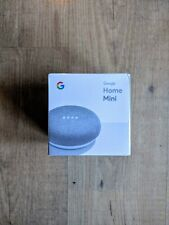 Google Home Mini Chalk Personal Assistant Smart Speaker Brand New In Box