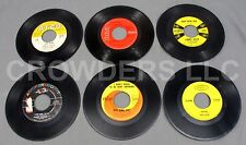 "6 7"" 45 rpm Vinyls Jimmy Dean King Cole Bobby Vinton George Hamilton IV Jim Ed"