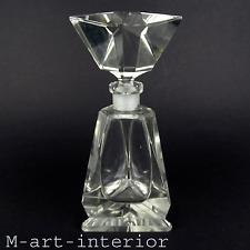Tipo vetrini profumo flacone CRISTALLO VETRO CARAFFA perfume bottle decanter Czech Glass