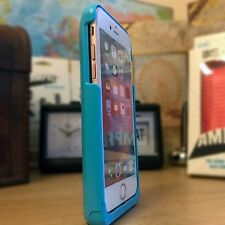 iPhone 5 Rugged Impact Displacement Sound Enhancement Ballistic Shell Blue Case