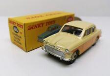 DINKY TOYS # 166 SUNBEAM Rapier Saloon w/windows - Yellow/Cream - MB